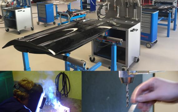 Karosserie – Instandsetzung an Stahl-Außenhaut Teilen Grundlagen